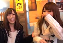 【素人】中華街で引っ掛けたハイレベルな女子大生にダブル中出し成功!