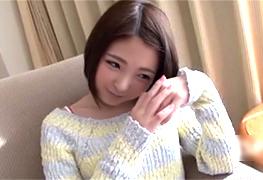 「そんなんしたらあかん…」関西弁が可愛すぎる美白の専門学生に中出し!