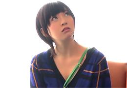 【素人】全身敏感で何度も絶頂する麻布十番のショート美少女に中出し!