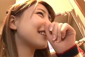【素人】『竹内結子』似のルックスが可愛すぎる広島の美巨乳フリーター
