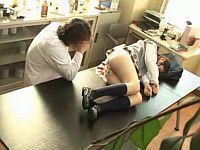 変態な科学教師にクロロホルムで眠らされ中出しレイプされるJK