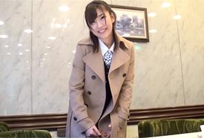 【素人】仕事帰りにパンスト破かれぶち込まれる安田美沙子似の不動産OL