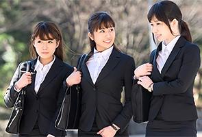 【新宿】面接終わりの清潔感ある就活生をリクルートスーツのままハメる!