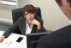 会社ではクールで怖い上司だけど、家では甘えん坊でアンアン喘ぐ俺の彼女 葵