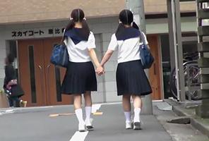毎朝通学路で見かける微笑ましい仲良し中○生を肉便器に調教するまでの記録