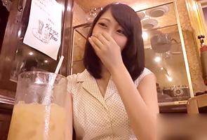 「彼氏に悪いからHはちょっと…」夏休みにきた東京で浮気する関西のマジメ系女子大生
