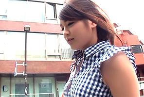 【ナンパ】永久脱毛で下はツルツル!美意識高い渋谷の巨乳エステティシャンに中出し!