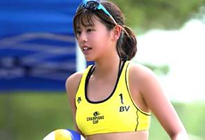 浅尾美和を超えるビーチバレー界の新アイドルがついに登場!