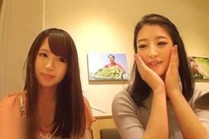 【素人】今話題の「相席居酒屋」で超レベルの高い女子大生2人組をお持ち帰り!