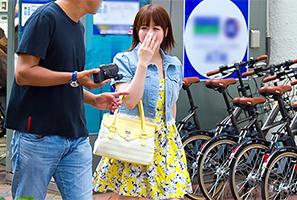【素人】渋谷でナンパしたむしゃぶりつきたいマシュマロ巨乳の美人女子大生
