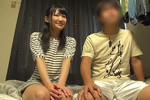 【素人】新婚1年目の夫婦が挑戦!一切動かない彼氏に中出し5発させたら100万円!