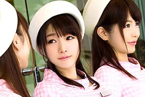 (キャッチ)新宿で働くスレンダラスな美足デパートガールと4P☆